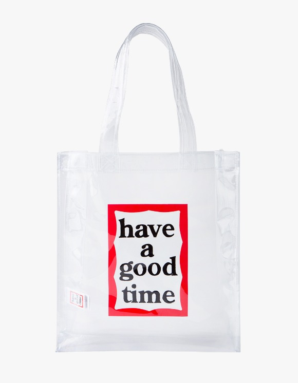 have a good time Clear Frame Tote   HEIGHTS.   하이츠 온라인 스토어