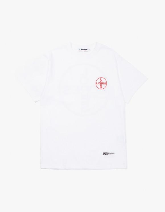LORES Medicine S/S T-Shirt - White   HEIGHTS.   하이츠 온라인 스토어