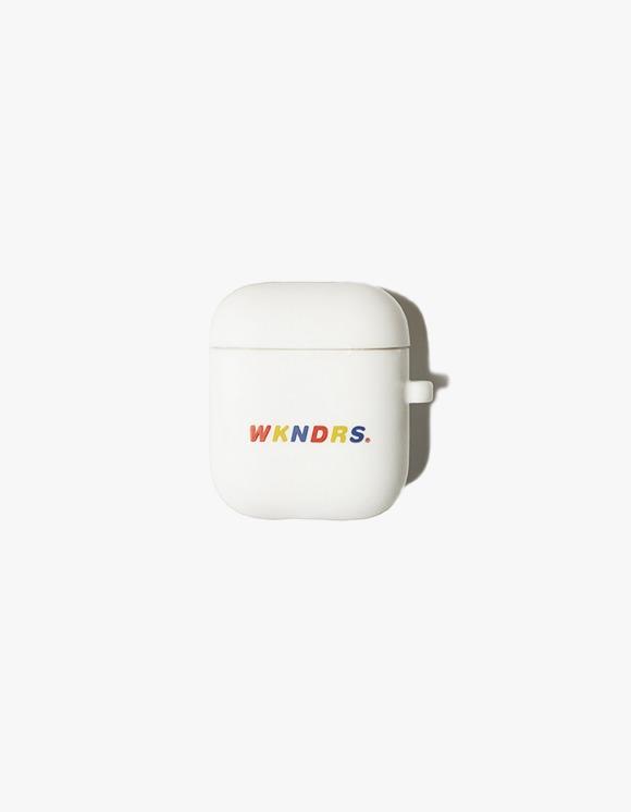 WKNDRS Wavy Airpod Case - White | HEIGHTS. | International Store