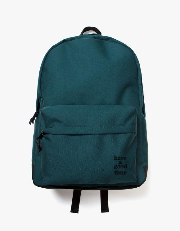 have a good time Logo Backpack - Smokey Green | HEIGHTS. | 하이츠 온라인 스토어