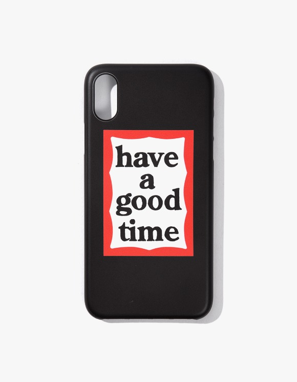 have a good time Frame iPhone Case X/XS - Black | HEIGHTS. | International Store