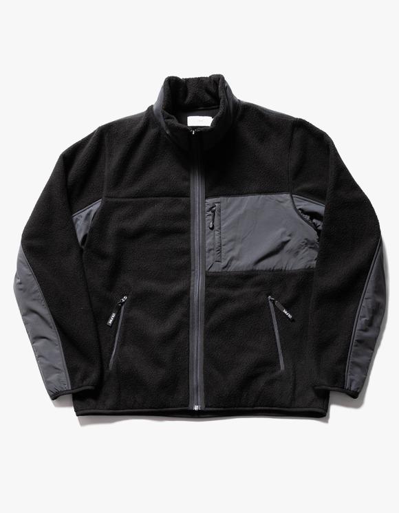 IZOLA NYC Sherpa Fleece Jacket - Black | HEIGHTS. | 하이츠 온라인 스토어