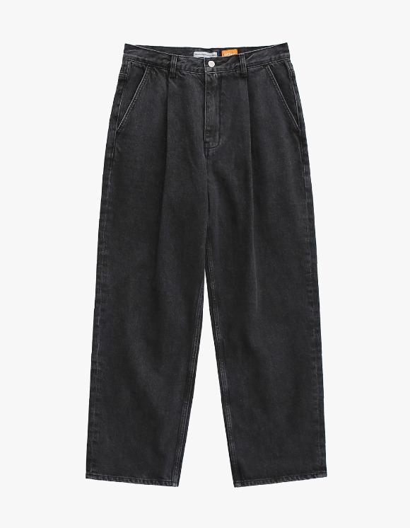 AYC 1 Tuck Wide Jeans - Used Black | HEIGHTS. | 하이츠 온라인 스토어