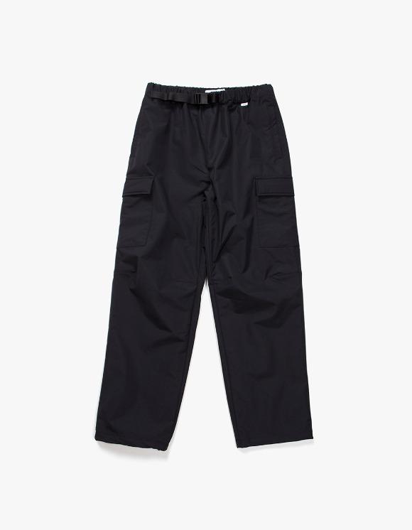 IZOLA NYC Belted Nylon Cargo Trouser - Black   HEIGHTS.   International Store