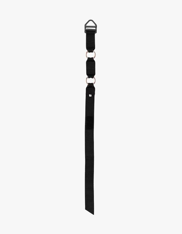 Richardson Velcro Restraint Belt - Black | HEIGHTS. | 하이츠 온라인 스토어