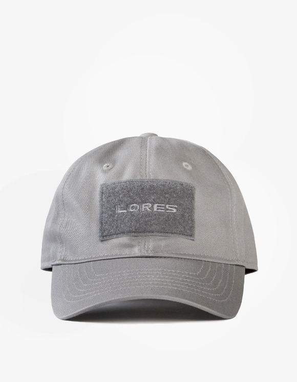 LORES 6-Panel Tactical Cap - Charcoal Grey | HEIGHTS. | International Store