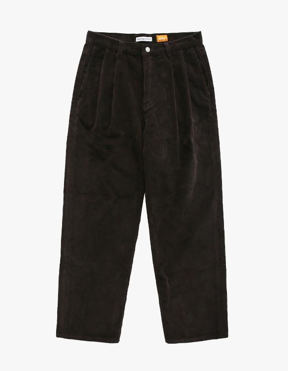 AYC Corduroy 2 Tuck Wide Pants - Brown | HEIGHTS. | 하이츠 온라인 스토어