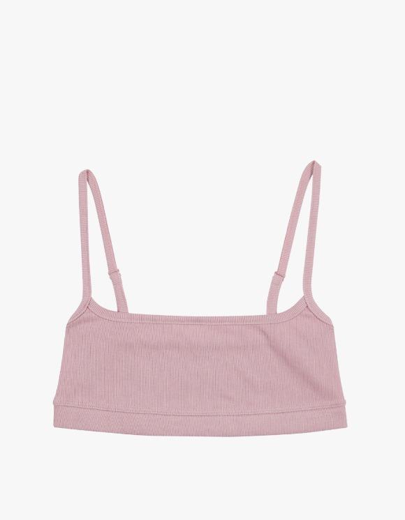 Dohyo Square Neck Rib Top - Pink | HEIGHTS. | 하이츠 온라인 스토어