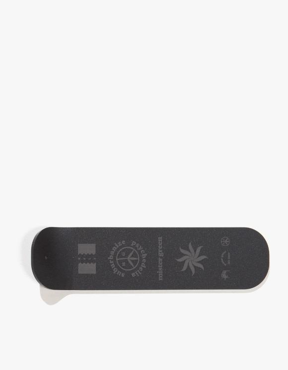 Mister Green Logo Stack Incense Burner - Black | HEIGHTS. | 하이츠 온라인 스토어