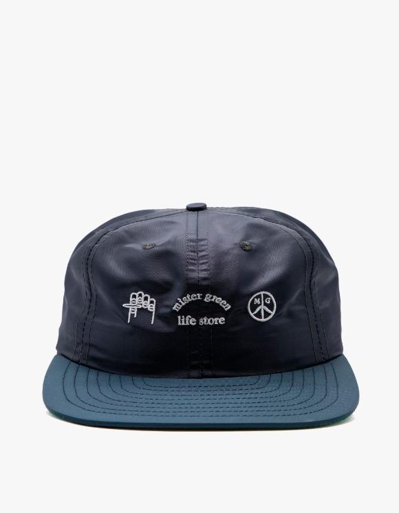 Mister Green Trifecta  Cap - Navy   HEIGHTS.   International Store