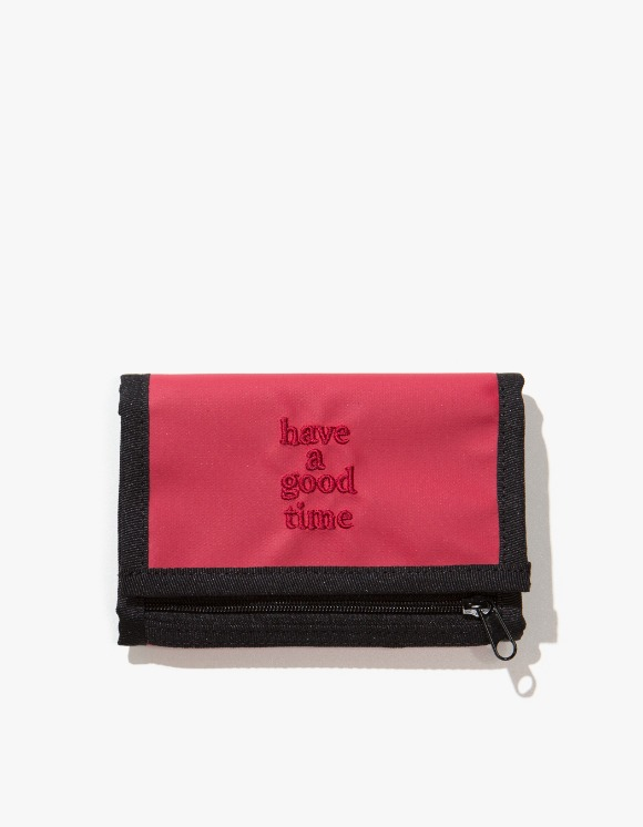 have a good time Logo Wallet - Smoky Red | HEIGHTS. | International Store