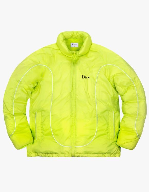 Dime Court Puffer Jacket - Neon | HEIGHTS. | 하이츠 온라인 스토어