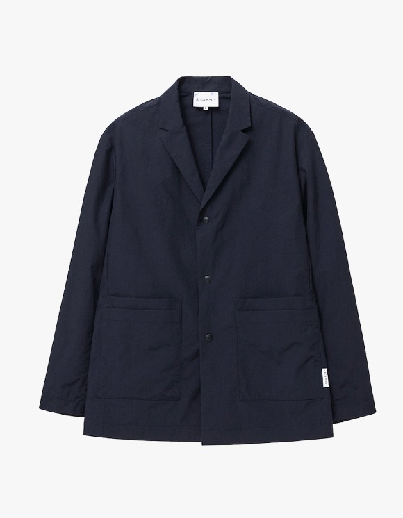 AECA WHITE Double Pocket  Relaxed Blazer - Navy   HEIGHTS.   International Store