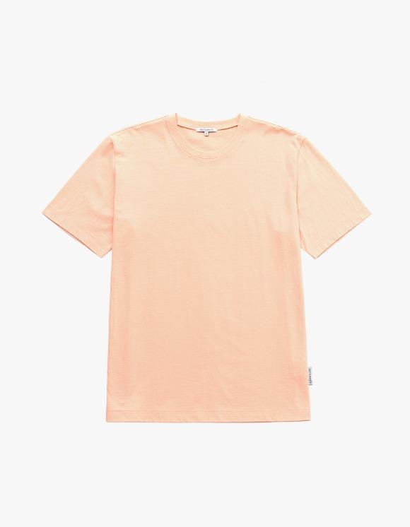 AECA WHITE Finest Cotton Half Sleeve Tee - Apricot   HEIGHTS.   International Store