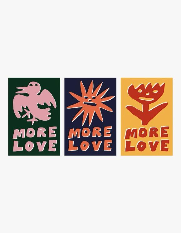 Balansa X More Love By Kentaro More Love Sticker Pack | HEIGHTS. | International Store