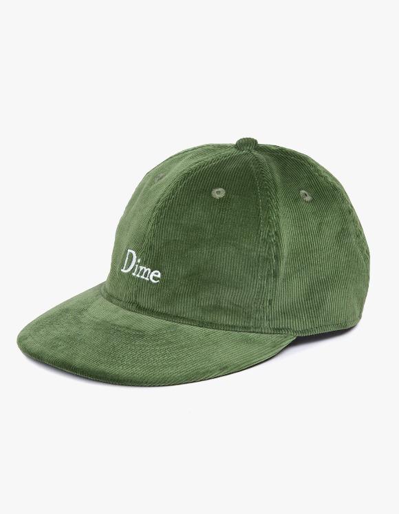 Dime Dime Classic Logo Corduroy Cap - Green | HEIGHTS. | 하이츠 온라인 스토어