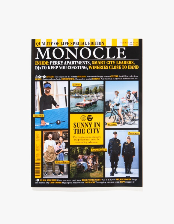 Monocle Monocle Magazine - Issue 135 | HEIGHTS. | International Store