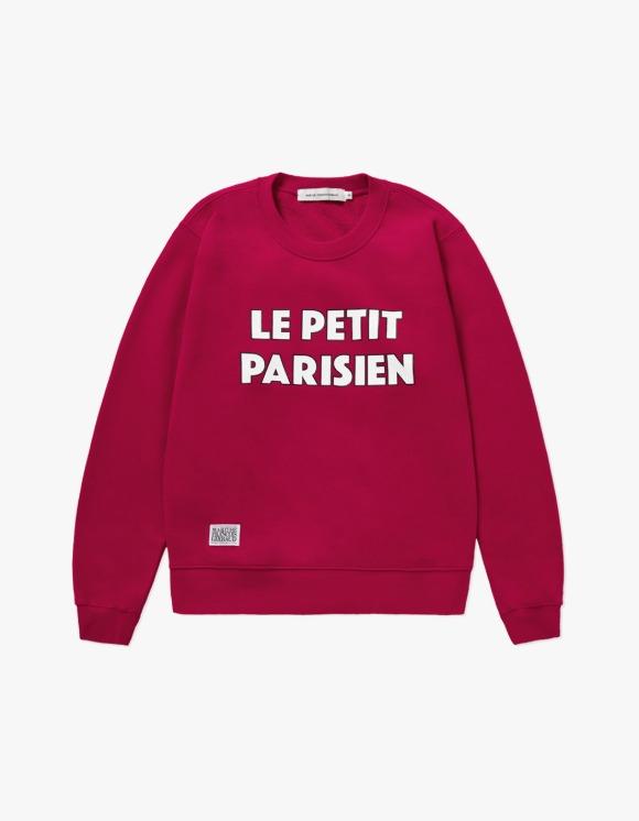 Marith+Franois Girbaud MARITHE CAMPAIGN SWEATSHIRT magenta | HEIGHTS. | International Store