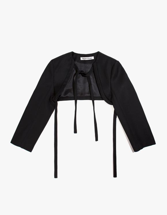 TheOpen Product Bolero Style Short Jacket - Black   HEIGHTS.   하이츠 온라인 스토어