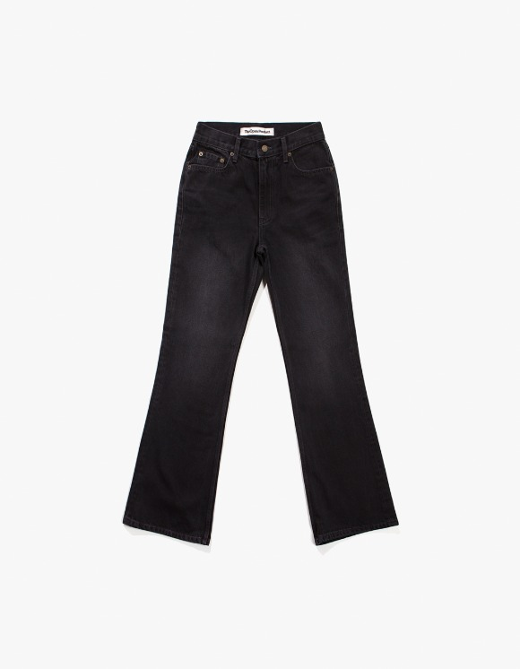 TheOpen Product Loose Fit Flare Jeans - Black | HEIGHTS. | International Store