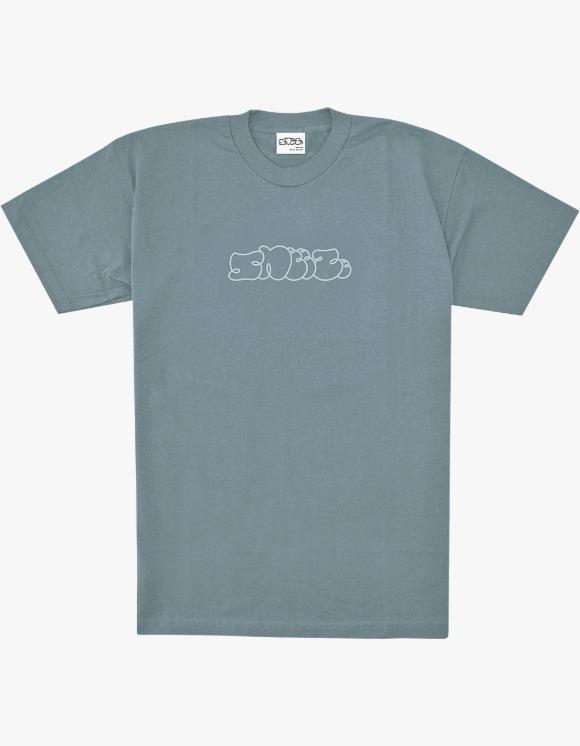 SNEEZE Magazine Sneeze Logo S/S Tee - Blue/Grey | HEIGHTS. | 하이츠 온라인 스토어