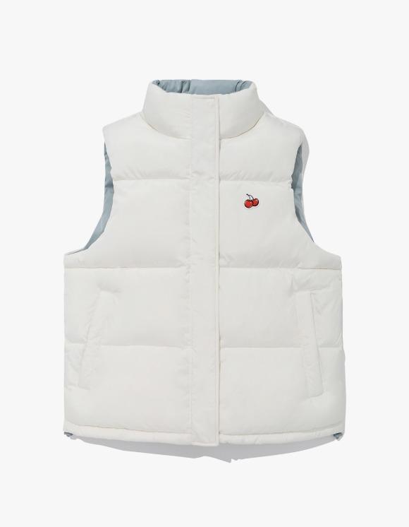 KIRSH Small Cherry Reversible Padding Vest JA - Ivory | HEIGHTS. | International Store
