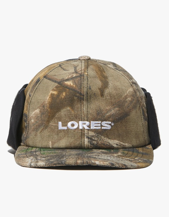 LORES Logo Earflap Mask Cap - Real Tree Camo | HEIGHTS. | International Store
