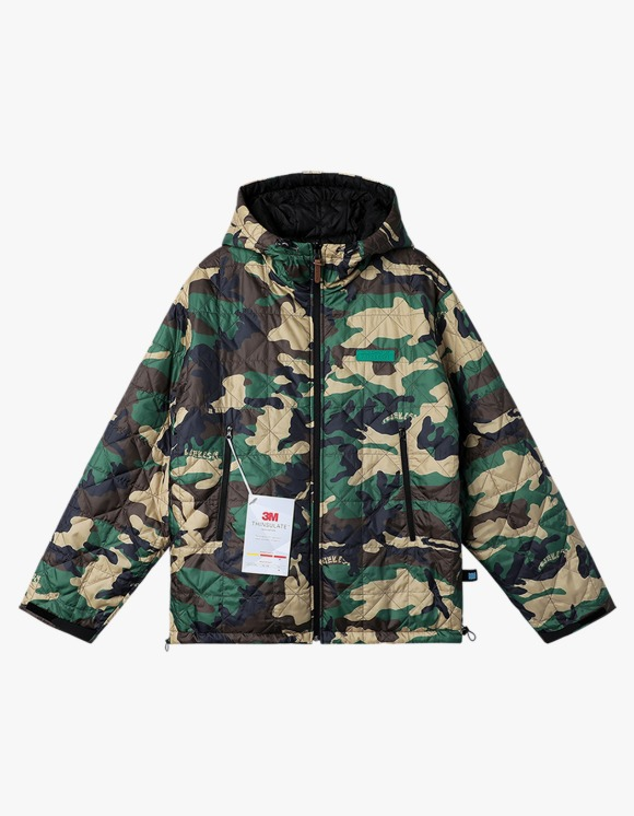 yeseyesee Y.E.S Reversible Parka - Camo/Black   HEIGHTS.   International Store