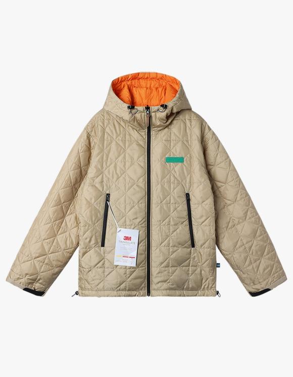 yeseyesee Y.E.S Reversible Parka - Beige/Orange   HEIGHTS.   International Store