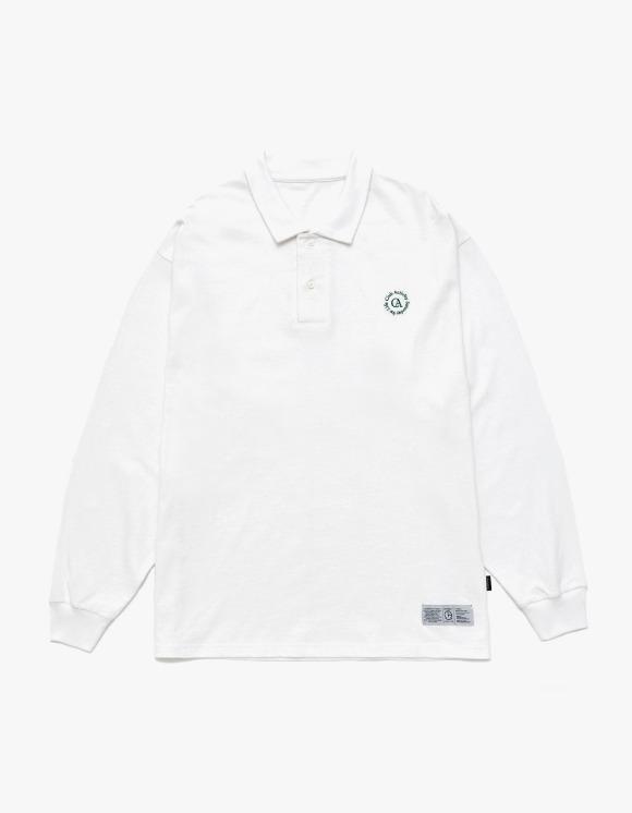 Club Activity Circle logo Polo Shirts - White | HEIGHTS. | 하이츠 온라인 스토어