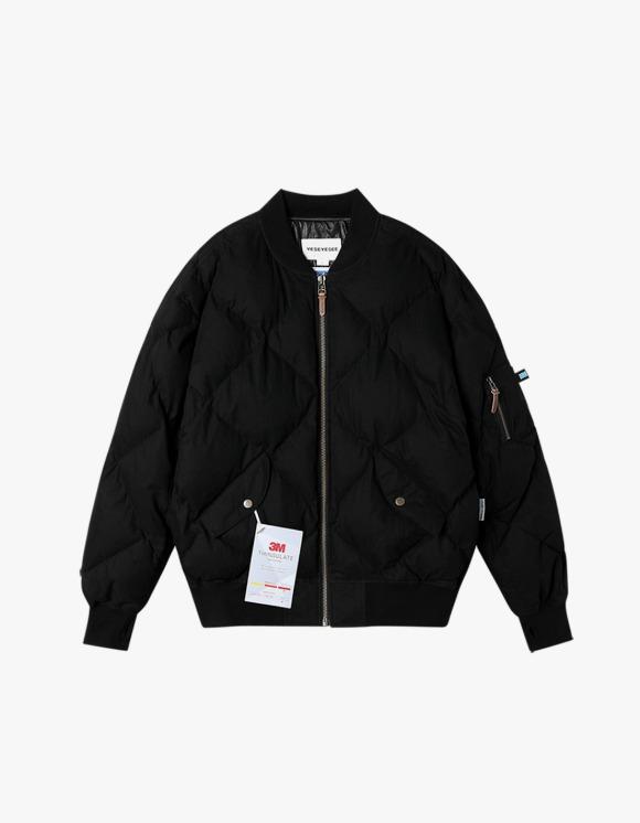 yeseyesee MA1 Puffer Jacket - Black   HEIGHTS.   International Store