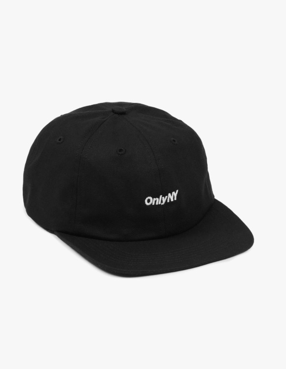 Only NY Logo Polo Hat - Black | HEIGHTS. | International Store