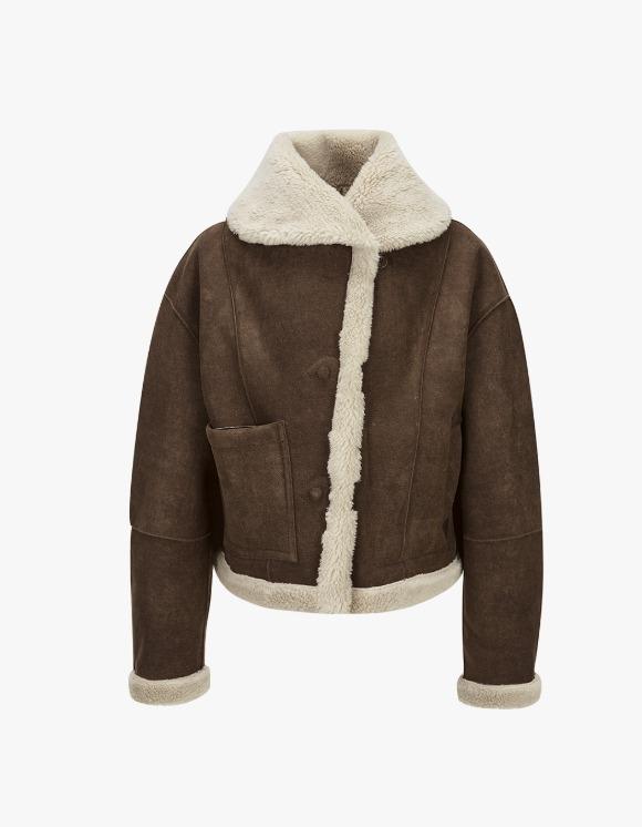 TheOpen Product Fleece Reversible Jacket - Brown | HEIGHTS. | International Store