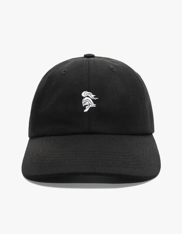 Chrystie NYC SWFC Warrior Head Logo Dad Hat - Black | HEIGHTS. | 하이츠 온라인 스토어