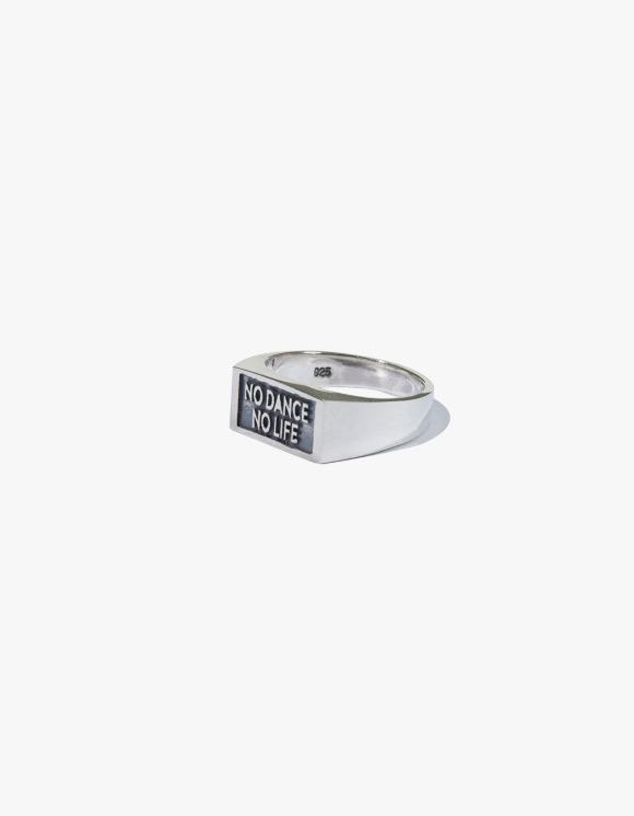 Kruchi lab No Dance No Life Small Ring - Silver | HEIGHTS. | International Store