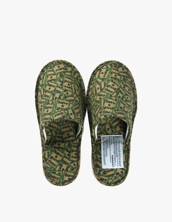 Medicom Toy Slippers - Military Frame | HEIGHTS. | International Store