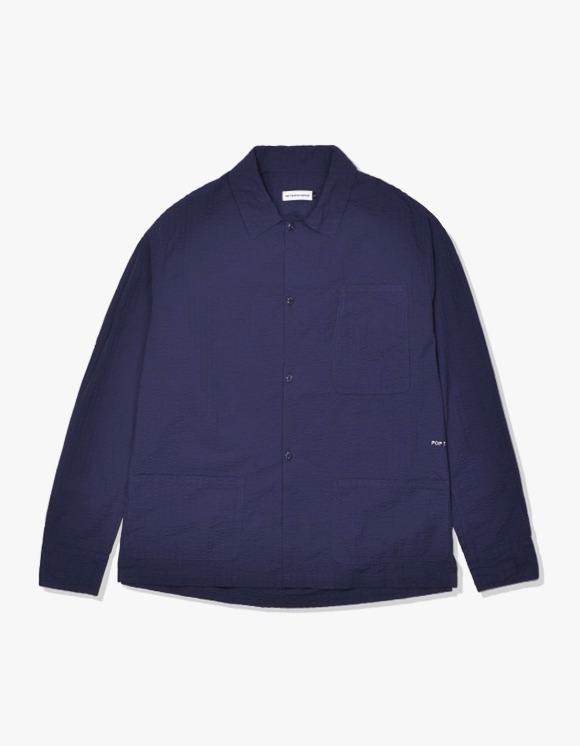 Pop Trading Company Pop Metrospective Overshirt - Navy | HEIGHTS. | 하이츠 온라인 스토어