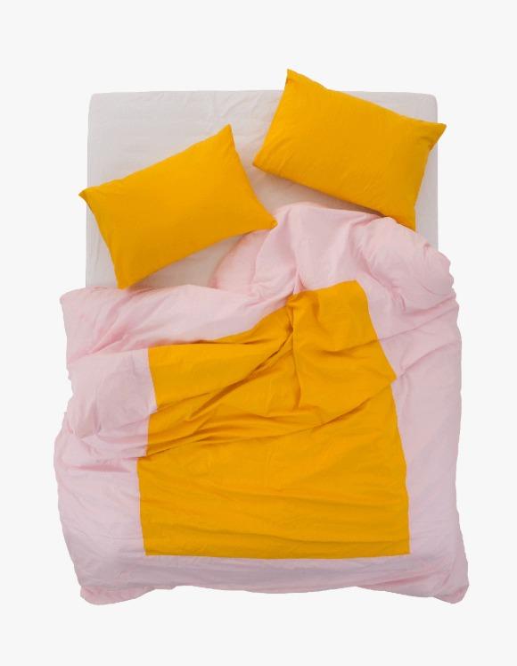 GATA Island Duvet Cover - Light Pink/Yellow | HEIGHTS. | 하이츠 온라인 스토어