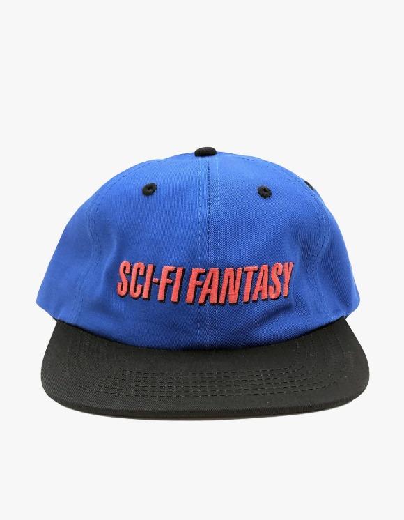 Sci-Fi Fantasy Fast Logo Hat - Royal/Black | HEIGHTS. | 하이츠 온라인 스토어