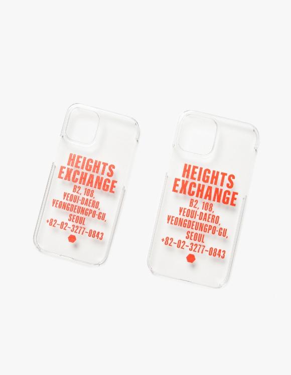 Heights. Exchange Exchange iPhone 12 Case - Clear | HEIGHTS. | 하이츠 온라인 스토어