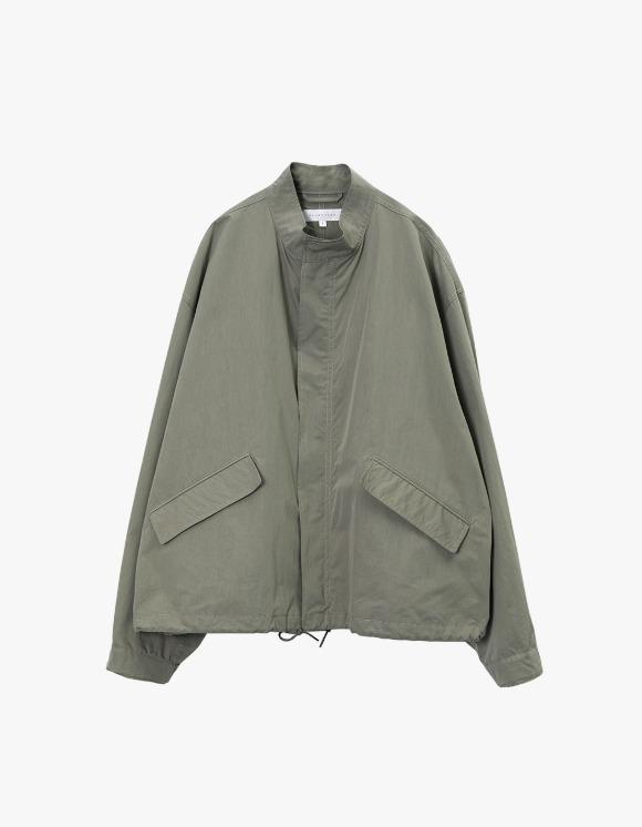 Brown Yard Essential Short Jacket - Olive Grey | HEIGHTS. | 하이츠 온라인 스토어