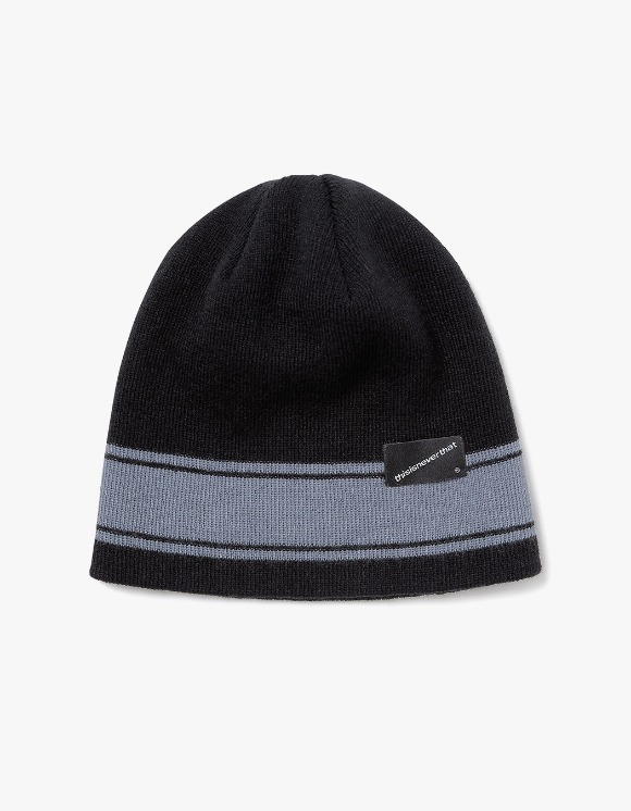 thisisneverthat 3 Striped Beanie - Black | HEIGHTS. | International Store