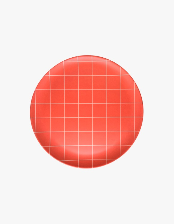 XENIA TALER Side Plate Red - Grid | HEIGHTS. | International Store