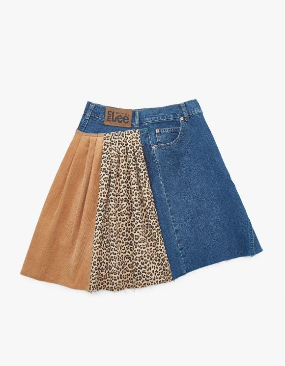 ANG Back Pleats Skirt #3 - Multi | HEIGHTS. | 하이츠 온라인 스토어