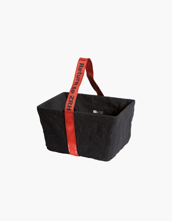PUEBCO INC. Rect. Basket with Vintage Office Bag | HEIGHTS. | International Store