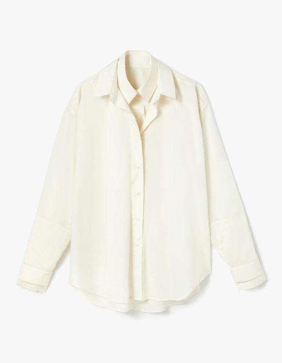 s/e/o Double Layered Shirt - Cream | HEIGHTS. | 하이츠 온라인 스토어