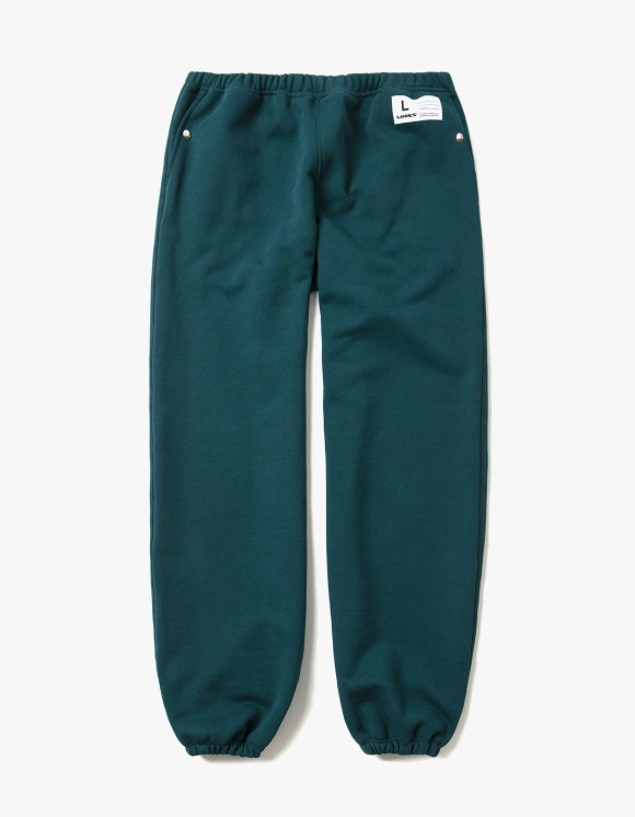 LORES Terry Snap Sweatpants - Forest Green | HEIGHTS. | 하이츠 온라인 스토어