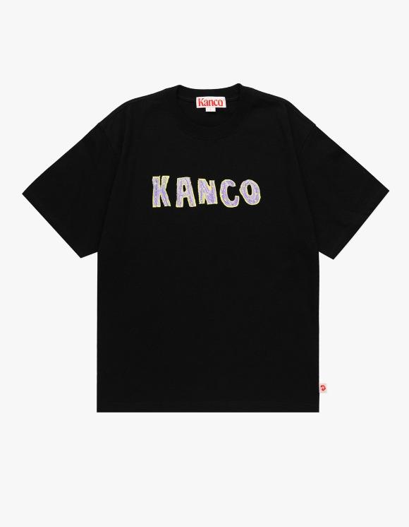KANCO KANCO TYPO TEE black | HEIGHTS. | 하이츠 온라인 스토어
