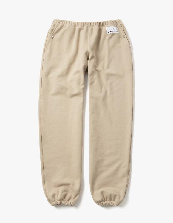 LORES Terry Snap Sweatpants - Beige | HEIGHTS. | 하이츠 온라인 스토어