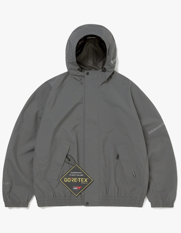 thisisneverthat GORE-TEX Paclite Jacket - Charcoal | HEIGHTS. | International Store
